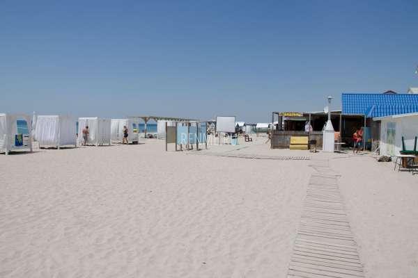 """Пляж """"Баунти"""". Пляжи Штормового"""