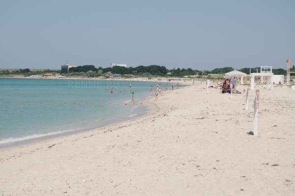 Фото пляжа. Фото Оленевки