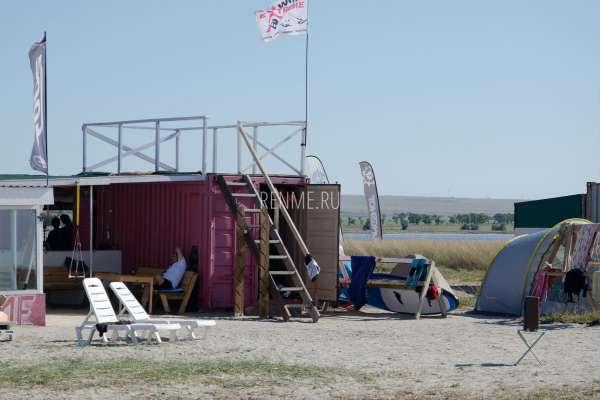 Обучение кайтсерфингу в Крыму. Фото Межводного