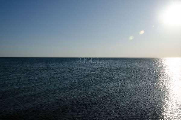 Черное море на закате. Фото Заозёрного