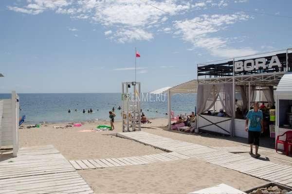 Пляж BORA BORA. Пляжи Заозёрного