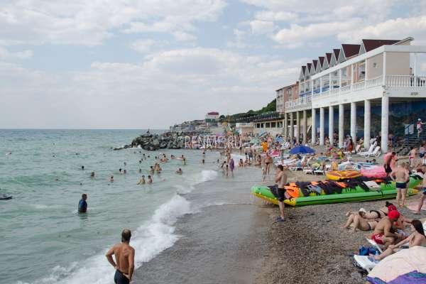 """Пляж """"Савита"""". Пляжи Николаевки"""