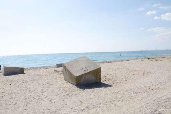 Памятник морякам-десантникам. Фото Евпатории