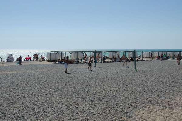 Пляжный волейбол в Новофедоровке. Фото Новофедоровки