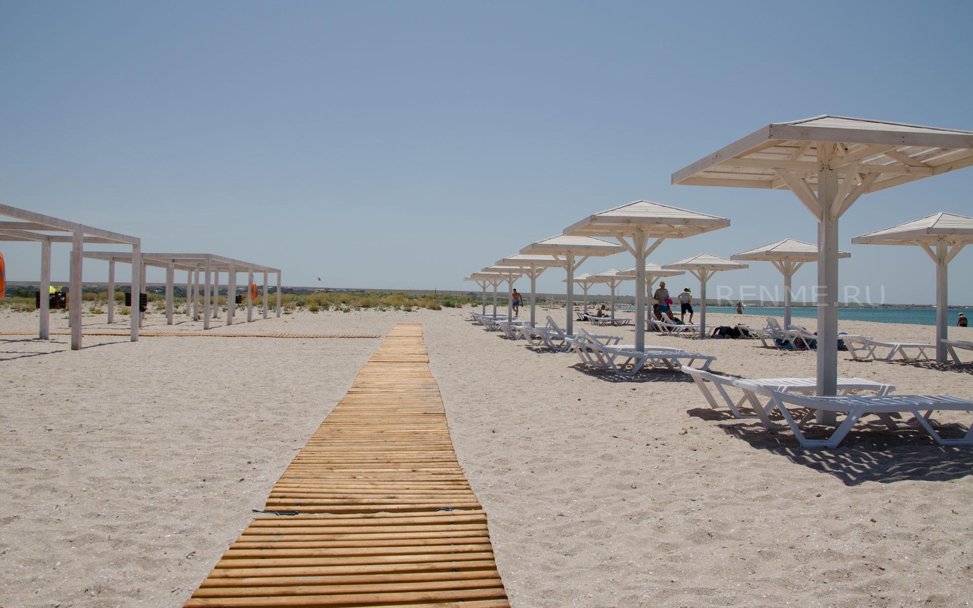 Самые лучшие пляжи. Фото Оленевки