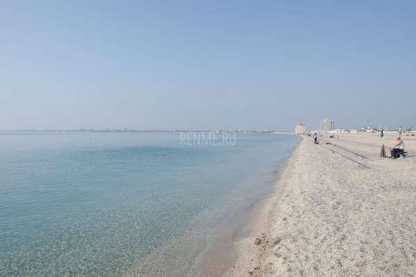 Лучший пляж Евпатории в октябре 2019. Фото Евпатории