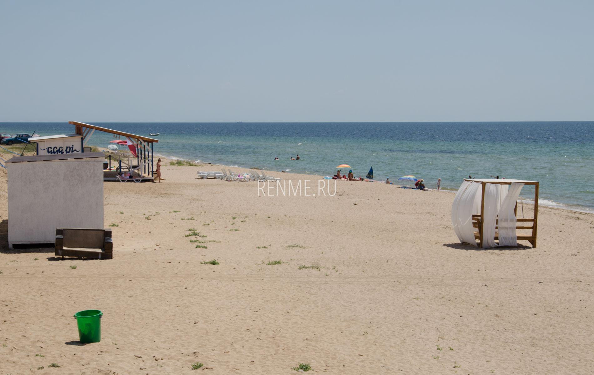Солдатский пляж летом 2019. Фото Заозёрного