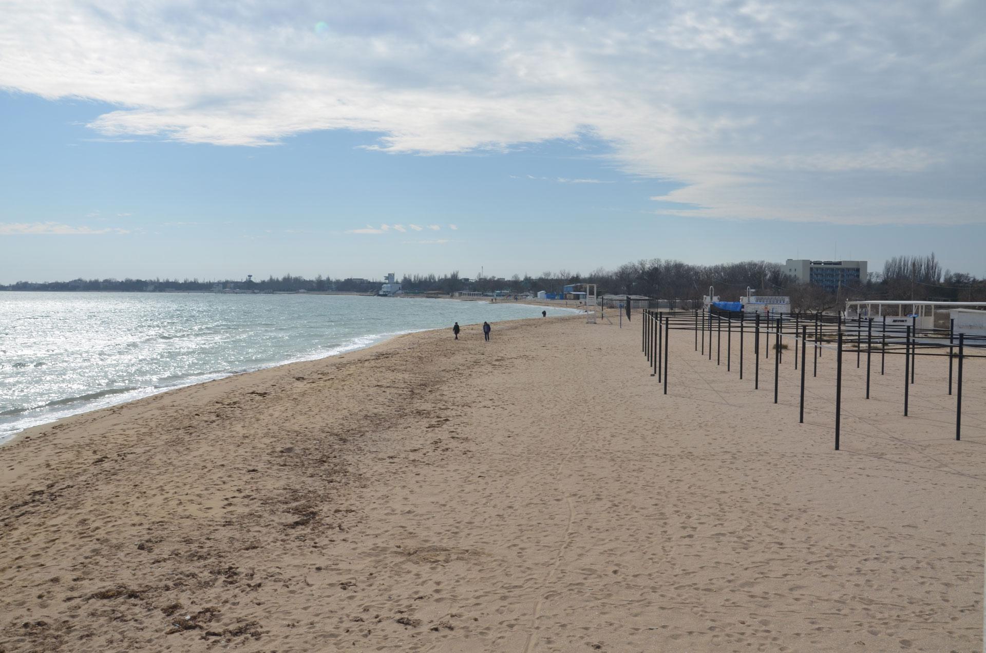 "Пляж ""Супер Аква"". Фото Заозёрного"