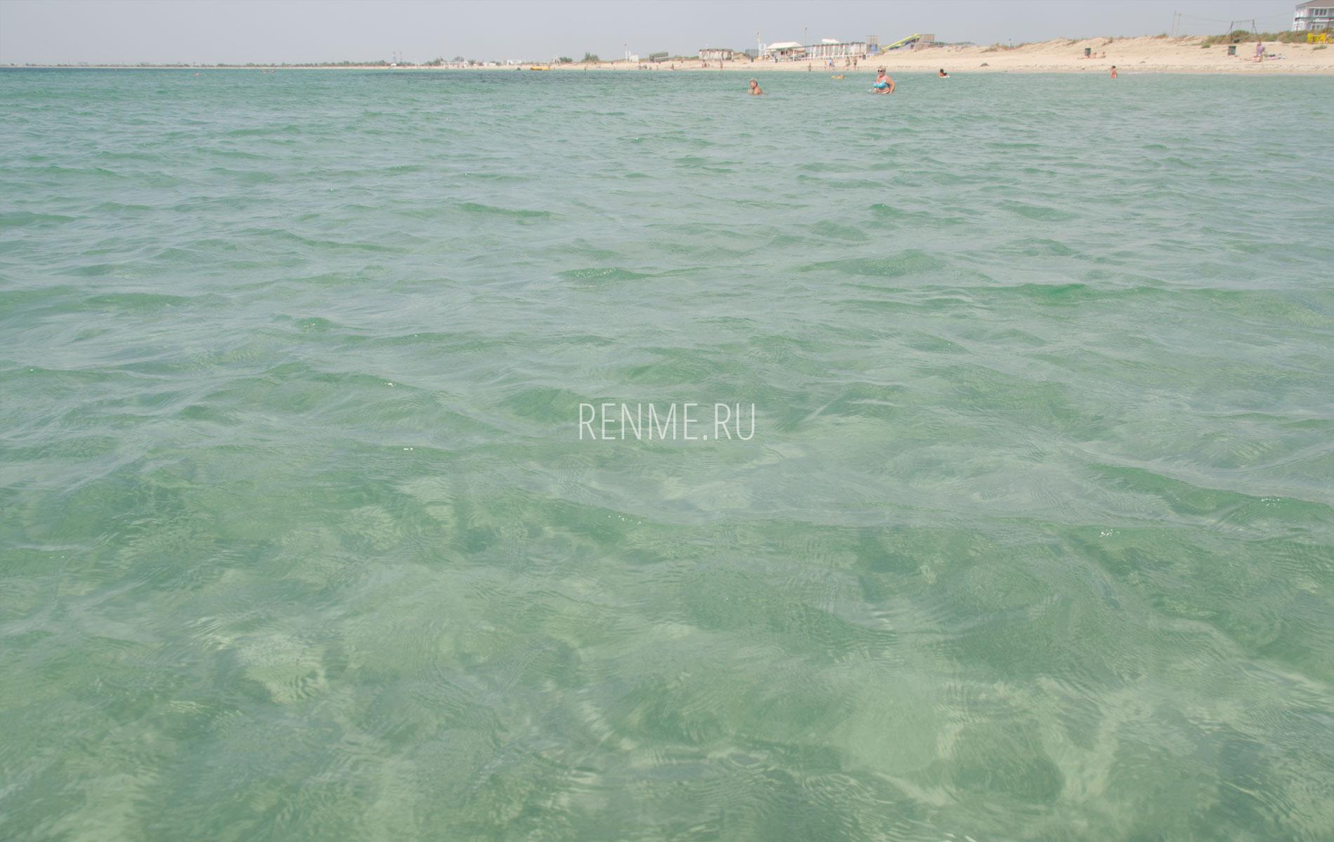 Море в Крыму сегодня. Фото Заозёрного