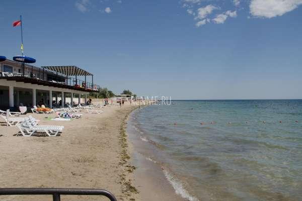 Пляжи Заозерного в июле 2020. Фото Заозёрного