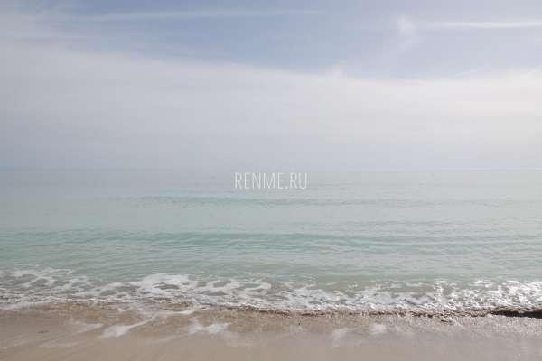 Мартовское море в Заозёрном. Фото Заозёрного