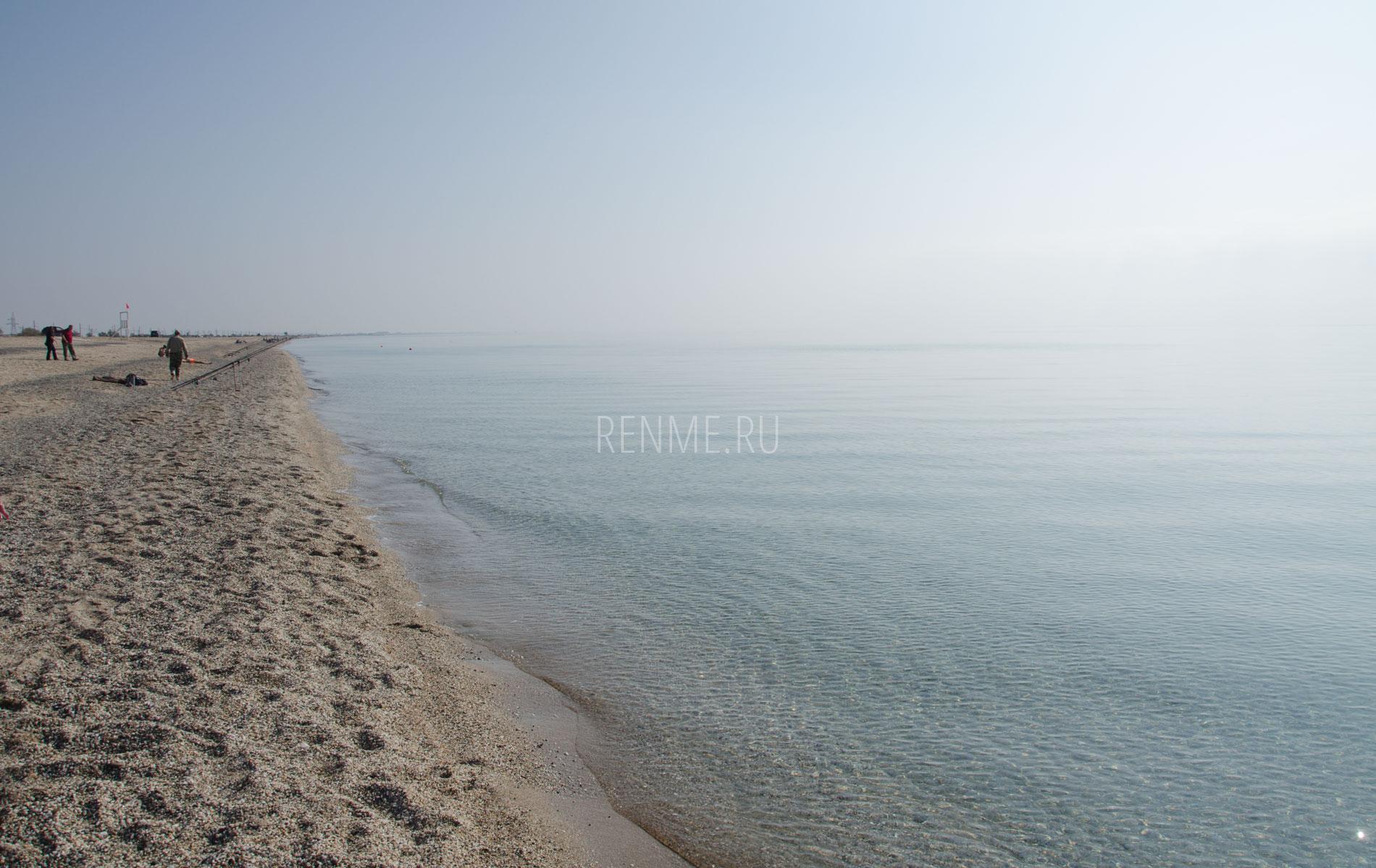 Красивый берег Крыма в 2019 году. Фото Евпатории