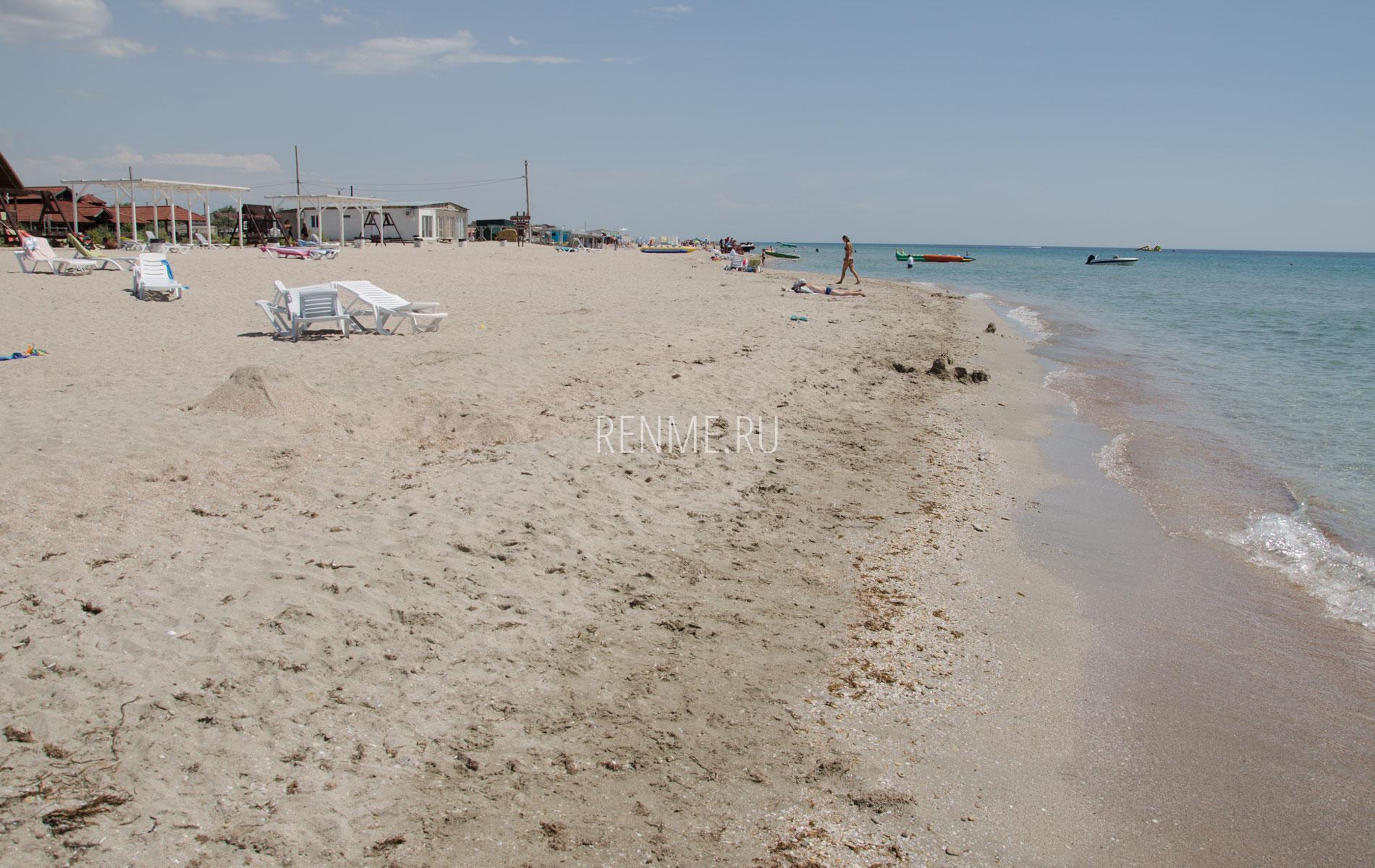 """Пляж """"Дельмар"""". Фото Штормового"""