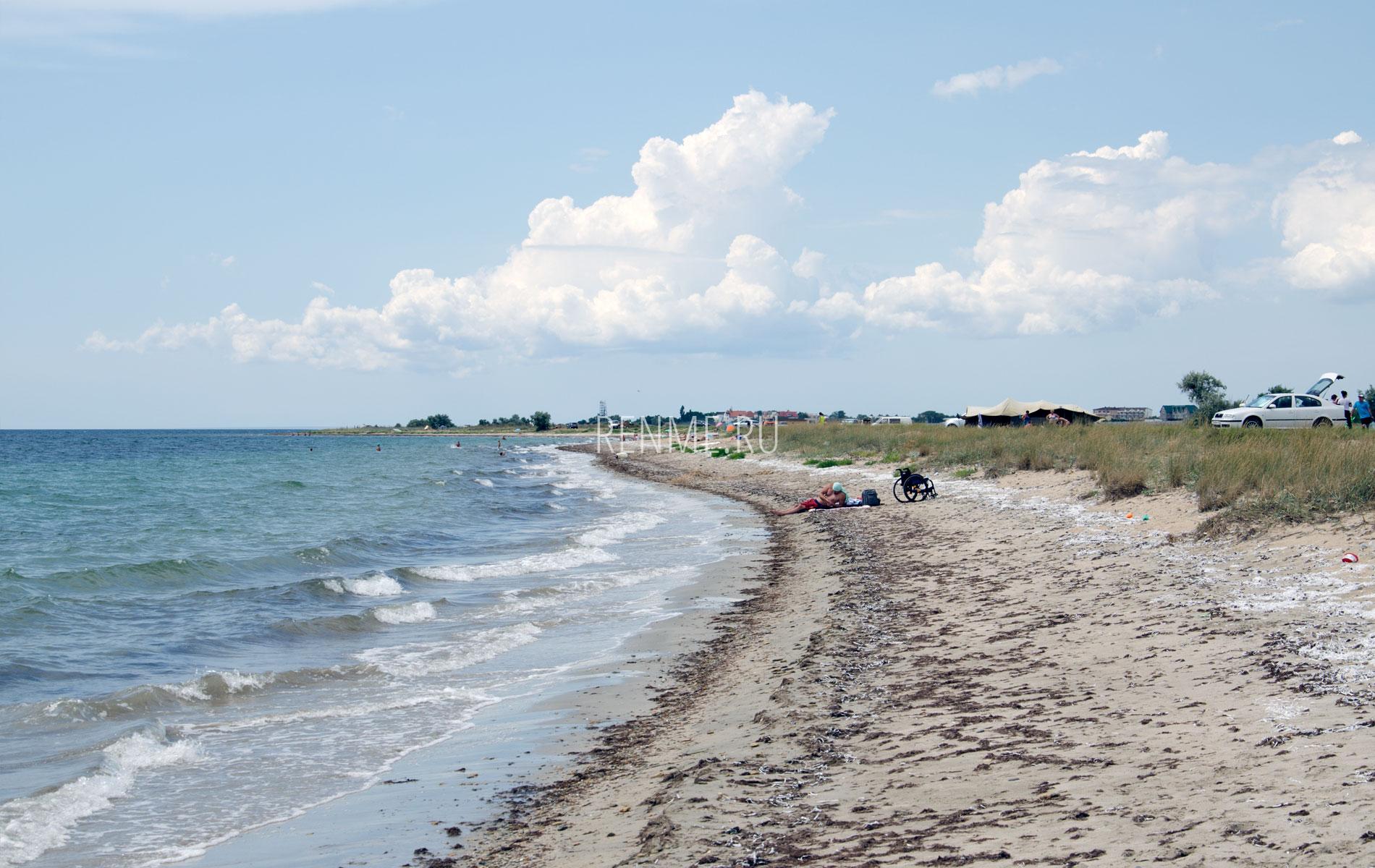 Дикий пляж под Витино. Фото Молочного